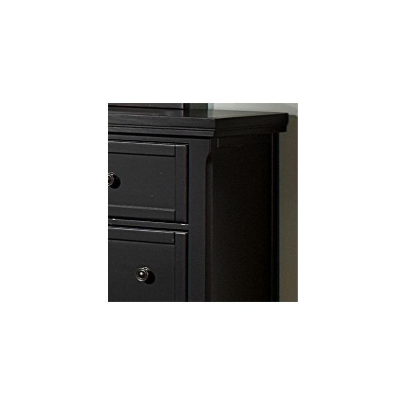 Triple Dresser - Ebony