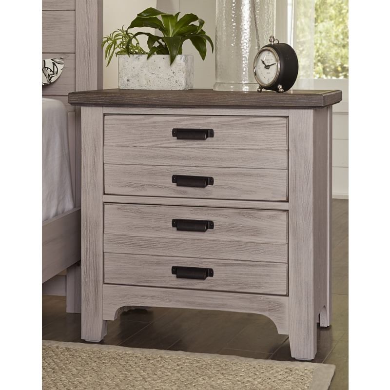 Bungalow 2 Drawer Nighstand By Vaughan