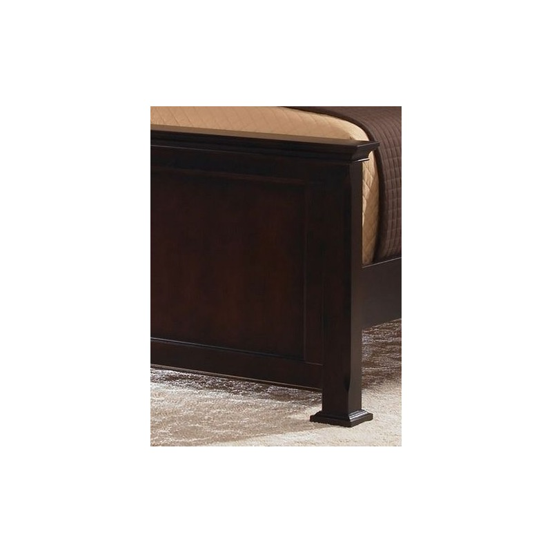 King Panel Bed By Vaughan Bassett