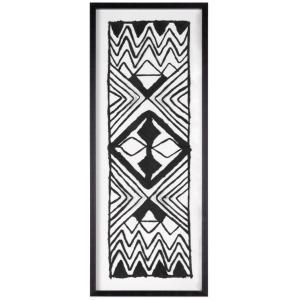 Textured Tribal Shadow Box