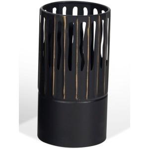 Slya Small Black Vase