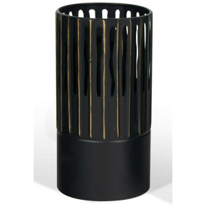 Slya Large Black Vase