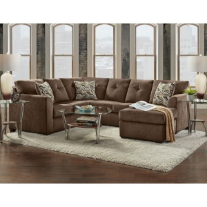Sectional - Kelly Chocolate