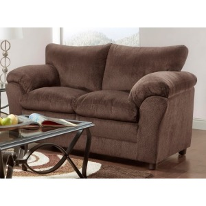 Loveseat - Kelly Chocolate