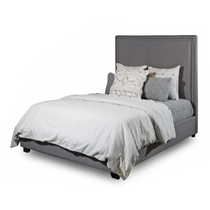 Destin Grey King Bed