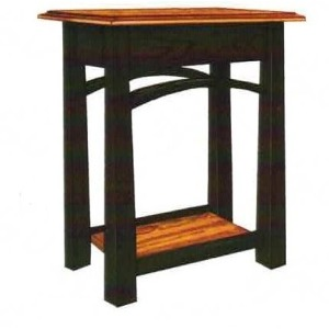 Madison Bow End Table