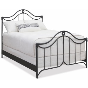 Montgomery Complete Queen Bed with Metal Profile