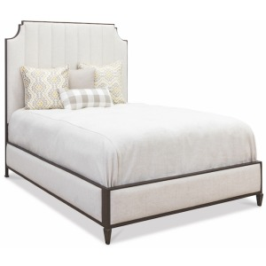 Spencer Queen Headboard with Fabric Surround