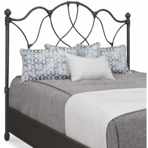 Morsley Queen Headboard with Metal Surround