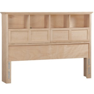 McKenzie Cal‑King Bookcase Headboard