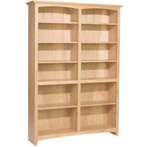 72x48 McKenzie Alder Bookcase
