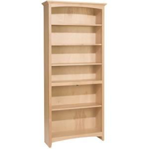 72x30 McKenzie Alder Bookcase