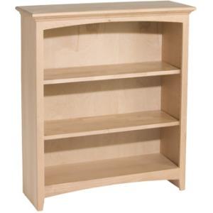 36x30 McKenzie Alder Bookcase