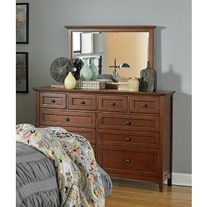 McKenzie 10‑Drawer Dresser & Mirror