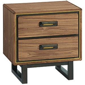 RLN Bryce 2‑Drawer Nightstand