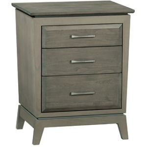 Ellison 3‑Drawer Nightstand