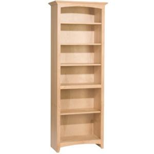 72x24 McKenzie Alder Bookcase