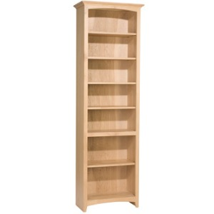 84x24 McKenzie Alder Bookcases