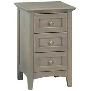 Small 3‑Drawer McKenzie Nightstand