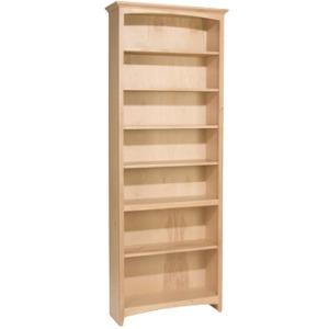 84x30 McKenzie Alder Bookcase