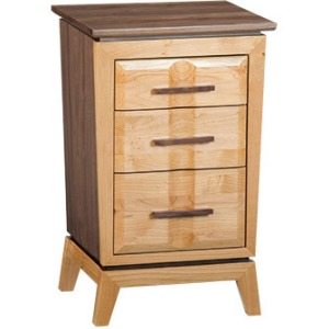 Addison Small 3‑Drawer Nightstand