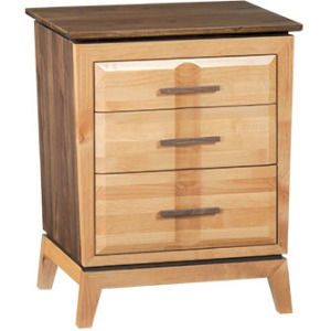 Addison 3‑Drawer Nightstand