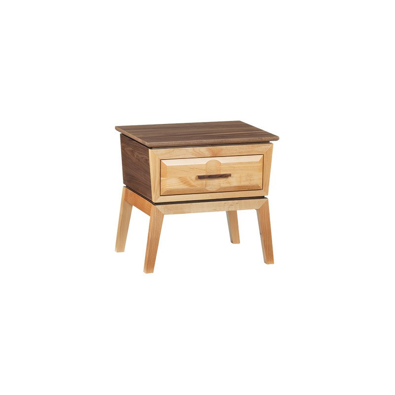 Addison 1 Drawer Nightstand By Whittier Wood Furniture The Furniture Mall
