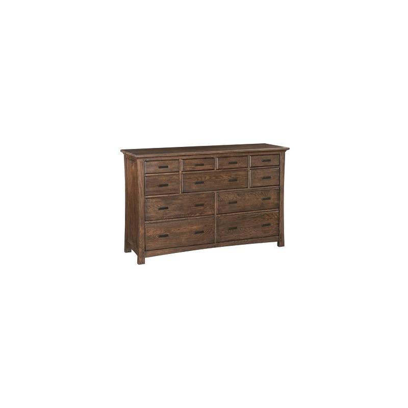 DAO 11‑Drawer Prairie City Dresser