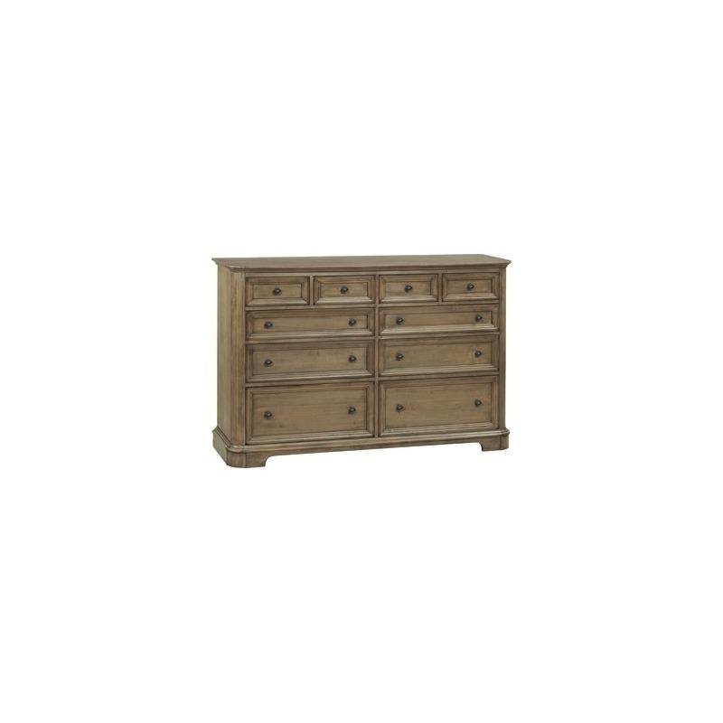 RGB 10‑Drawer Stonewood Dresser
