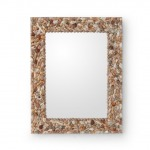 Shell Frame Mirror