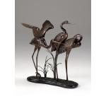 Wading Cranes