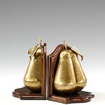 Pear Bookends (pair)