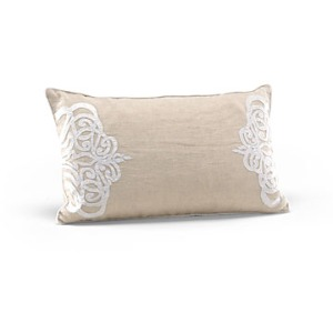 Platinum Medallion Kidney Pillow