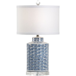 Fish Tail Lamp - Blue