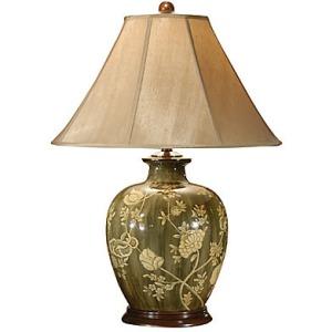 Creamy Flowers Lamp