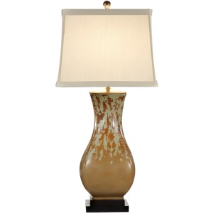 Mottled With Green Lamp