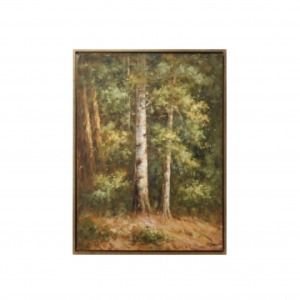 Into The Woods (framed Oil)