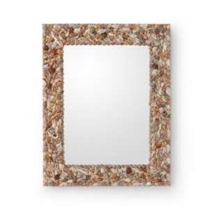 Shell Frame Mirror