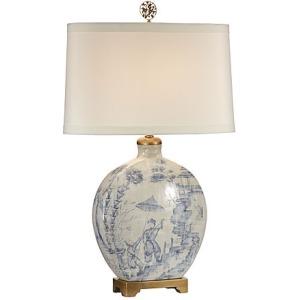 Ancient Snuff Bottle Lamp