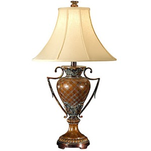Crisscross Urn Lamp