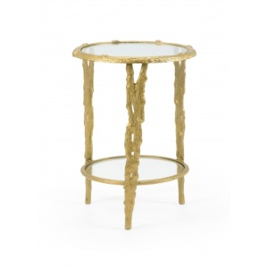 Woody Accent Table
