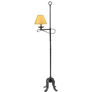 Old Iron Floor Lamp