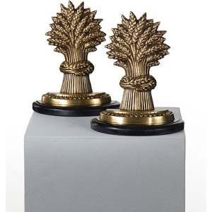 Wheat Sheaves Bookends (pair)