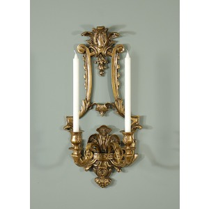 Large Sconce  2 Lite