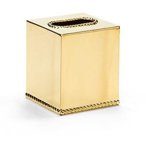 Brass Tissue Box Cover