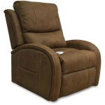 Three Position Chaise Lounger W/ Power Headrest