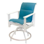 Hampton Sling Swivel Balcony Chair