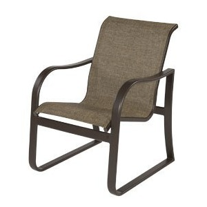 Corsica Sling Dining Arm Chair
