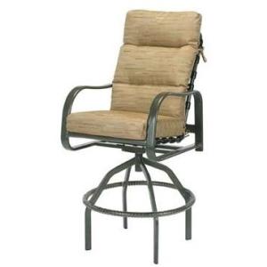 Sonata Cushion Swivel Bar Chair