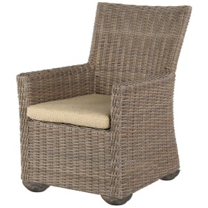 Oxford Wicker Dining Arm Chair